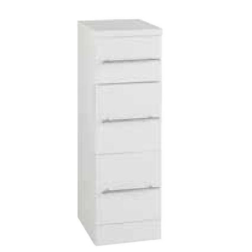 Encore 250mm wide 3 drawer unit