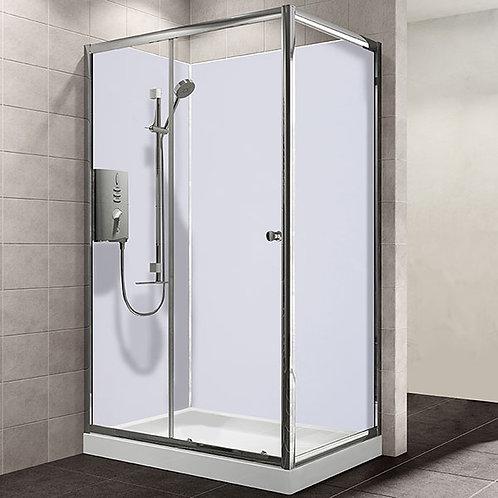 MB Gloss White 1.2metre x 2.4metre Shower Board