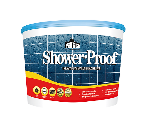 15 litre Palace showerproof tile adhesive
