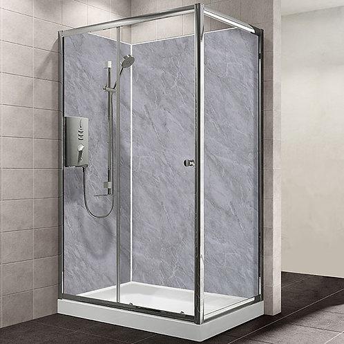 MB Grey Marble 1.2metre x 2.4metre Shower Board
