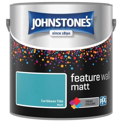 2.5 litres johnstone feature wall matt emulsion colours