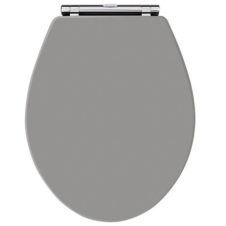 Old London Storm Grey Soft Close Toilet Seat
