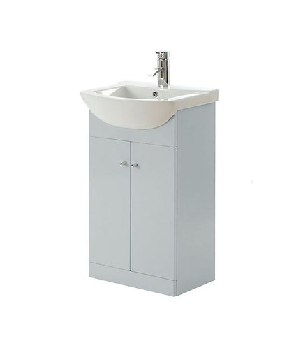 Cavalier Ikoma 550mm  Pearl Grey Unit and Basin
