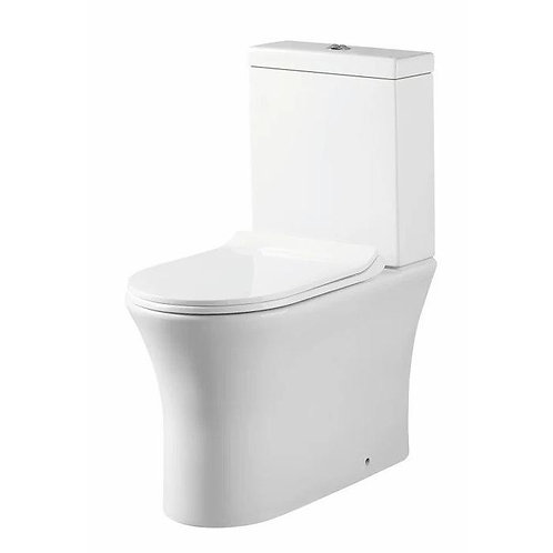 Deia Comfort Height Rimless  Back to wall WC