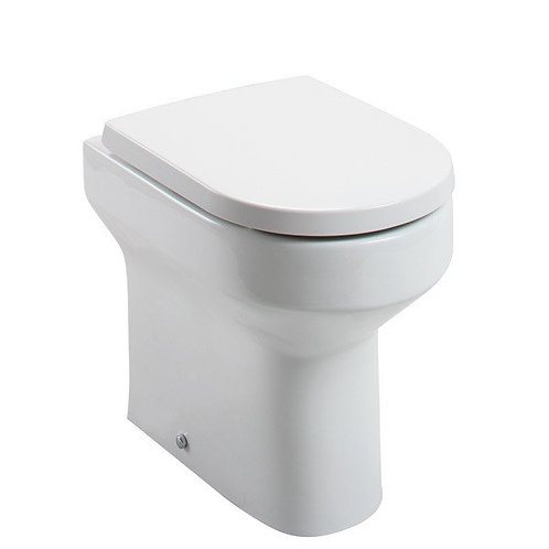 Bijou Comfort Height Back To Wall Pan & Soft close Seat