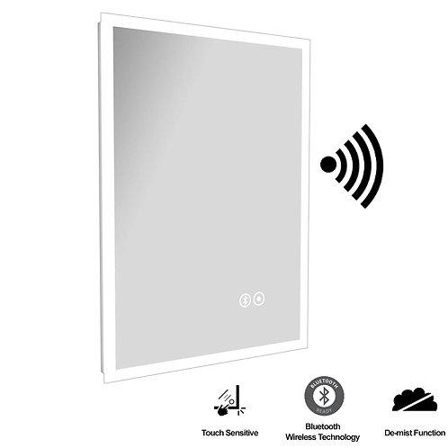 Carlisle Musik MIR024 700mm x 500mm Bluetooth LED Mirror