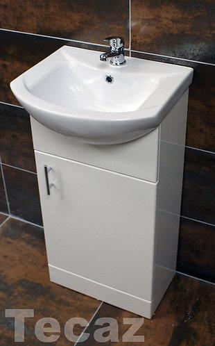 450mm Encore Deluxe Design Unit and Basin
