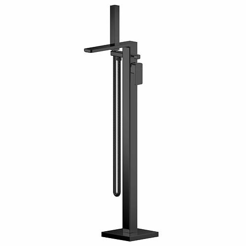Windon Black Freestanding Bath Shower Mixer WIN421
