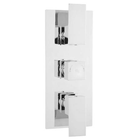 Element Concealed Thermostatic Triple Shower Valve WINTR02