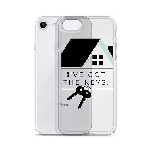 """I Got The Keys"" iPhone Case"