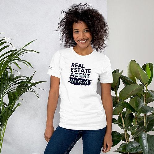 """Real Estate Ninja"" Short-Sleeve Unisex T-Shirt"