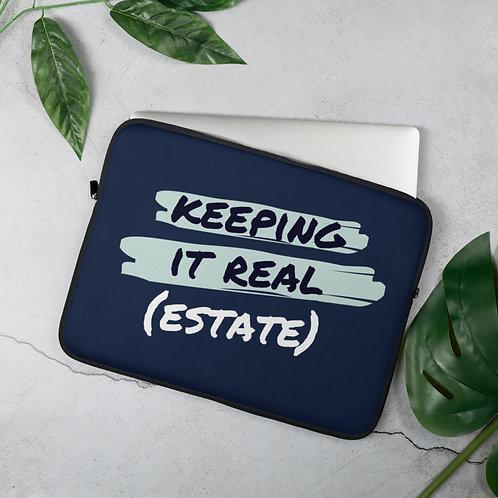 Keeping It Real (Estate) Laptop Sleeve