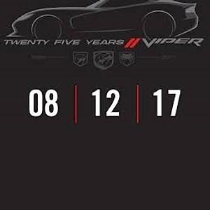 25th Viper Anniversary