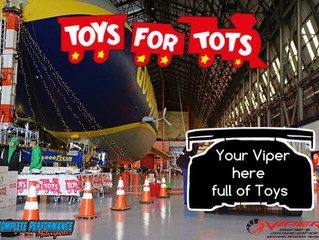 Charity drive with Toys for Tots!
