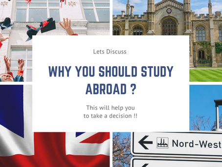 Why you should Study Abroad ?