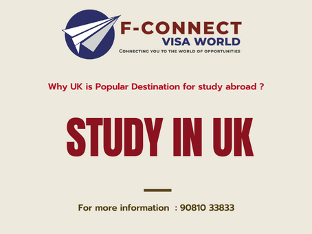 Why UK is popular Destination for study abroad |  STUDY IN UK