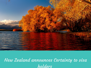 Skilled Migrant Category: New Zealand announces Certainty to visa holders