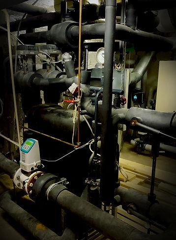 Kylcentral och värmecentral