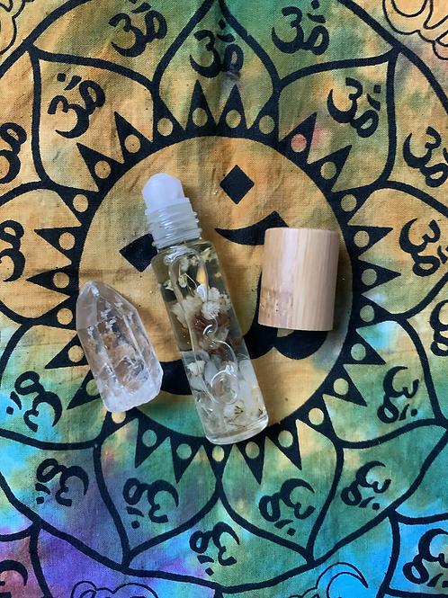 Clear Quartz Healing Oil