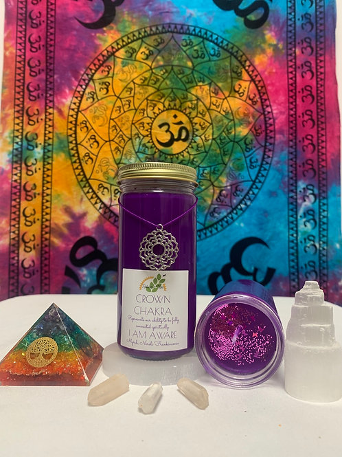 The Crown  Chakra Candle