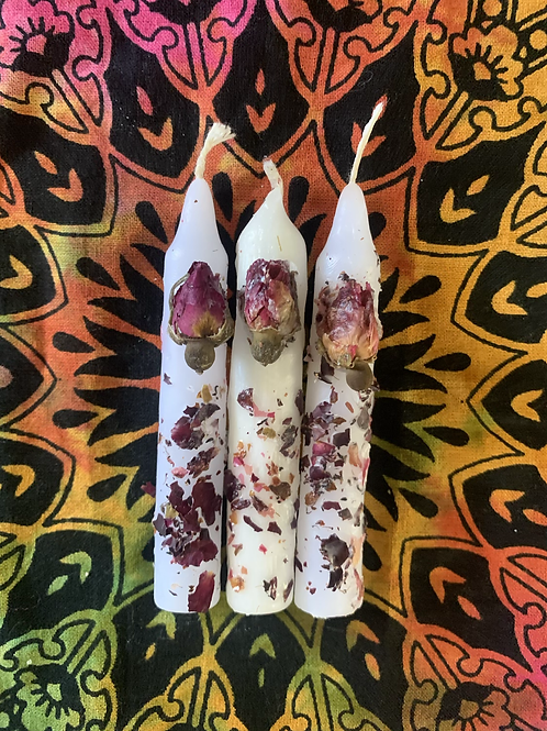 Rose Intention Candle