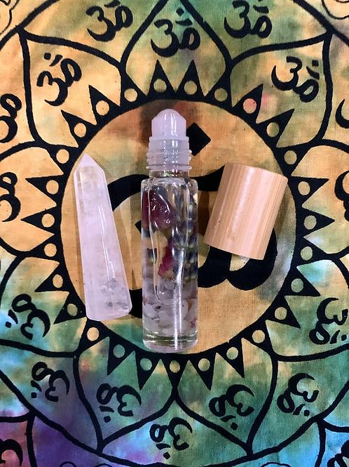 Rose Quartz Healing Oil