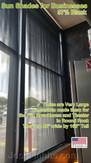 Sun & Solar Shades for office windows.