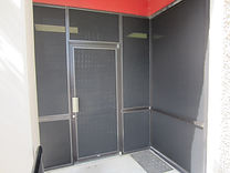 Solar screens commercial business.