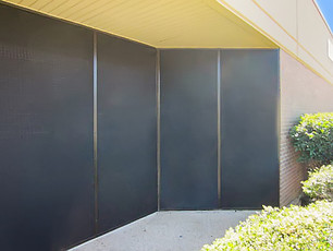 Solar shades for commercial business windows - Austin TX.