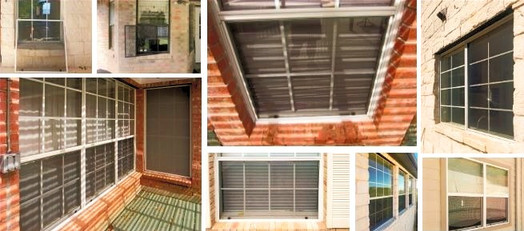 Austin Texas insect bug screens for opening windows.