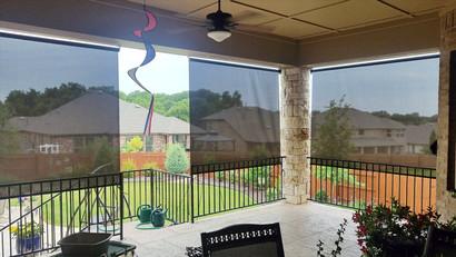 Austin TX exterior patio shades.