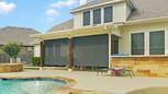 Black sun shade fabric Pflugerville TX solar shades.