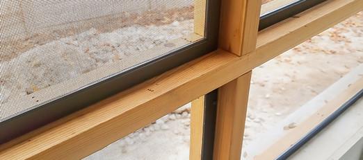 Wood framed patio Austin TX 2019 installation.