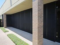 Austin tx commercial solar screens.
