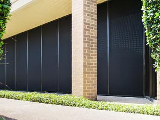 Commercial solar screens Austin Texas.
