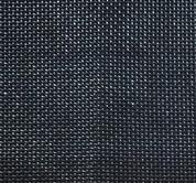 Black solar screen fabric for sun shade.