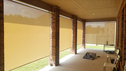 Outside Shades 85-inch Heights.