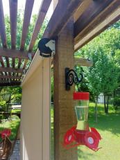 Sun screens for porches & patios Austin TX.
