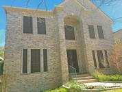 Cedar Park TX solar screens Mocha 90% White frame.