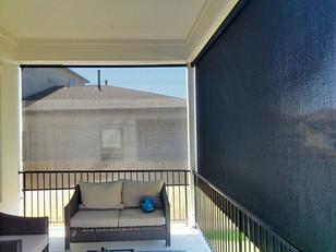 Retractable sun shade Austin Texas.