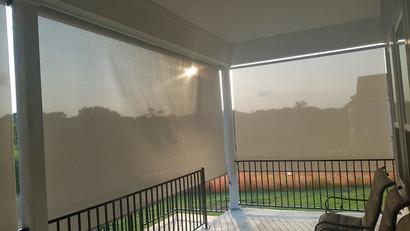Austin outdoor window blinds.