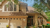 Mocha 90% fabric for this Pflugerville Texas home.