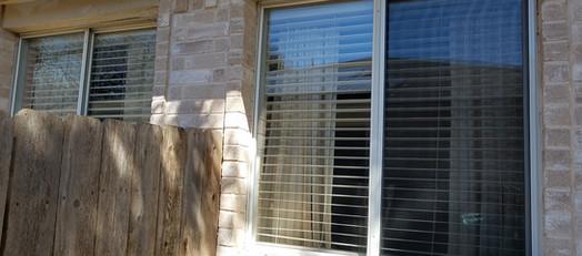 New window screen for horizontal sliding windows.