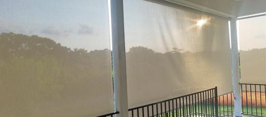 Austin TX outdoor shades, sun shade for patio.