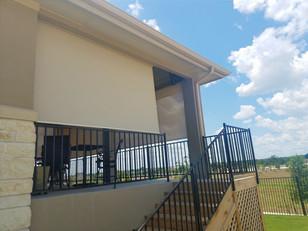 Georgetown Texas exterior sun shades.