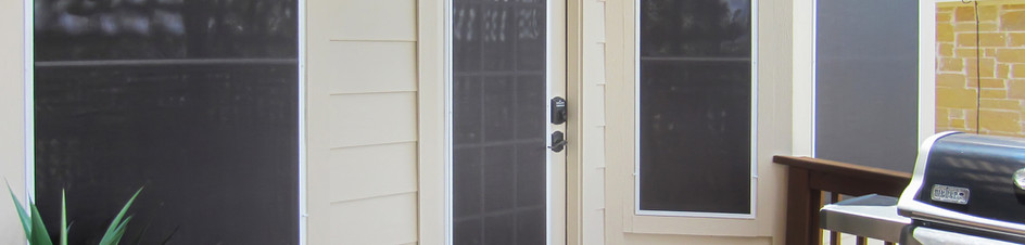 Window film is not the answer to shading your back door.
