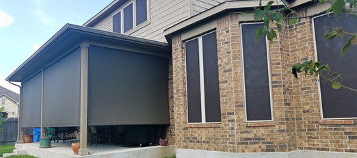Shade all of your patio openings with my outside shades.