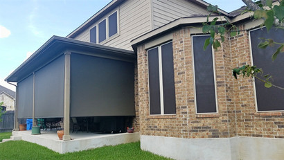 Outdoor patio shades Pflugerville TX.