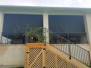 Round Rock Texas exterior sun shades.