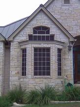 Grid Pattern Austin Texas solar screens.